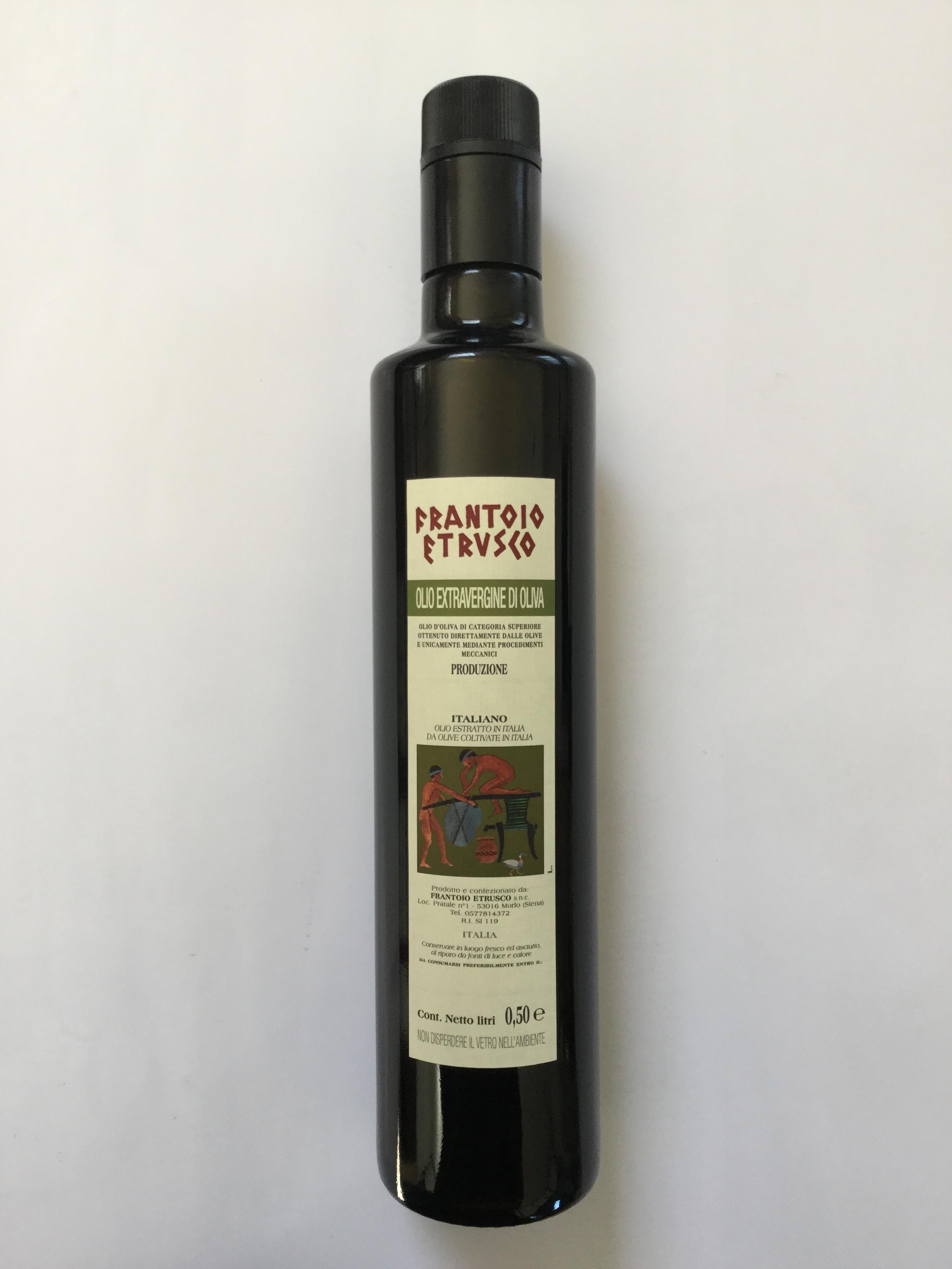 Frantoio Etrusco Olio Extravergine di Oliva Bottiglia 1 lt