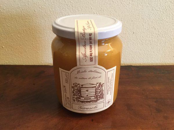 Miele italiano da nettare di fiori di girasole 500 gr